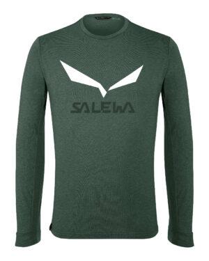 SalewaSolidlogo dryFunktionsshirt