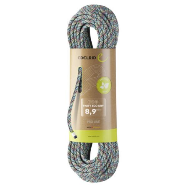 EDELRIDSwift Eco Dry 8,9 mm - 70 m Kletterseil